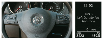 Alpine VW Interface supports original steering wheel remote control