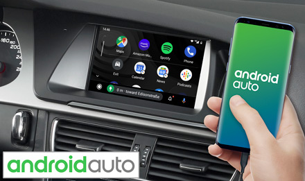 Audi A4 - Works with Android Auto - X703D-A4