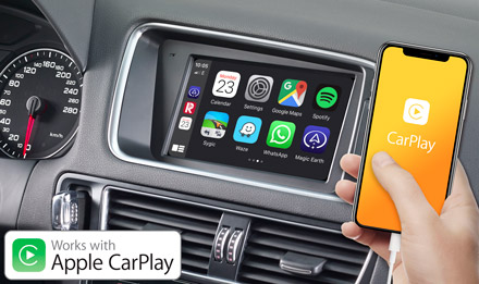 Audi Q5 - Works with Apple CarPlay - X703D-Q5