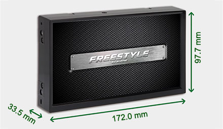 Freestyle solution for custom installs - Navigation System X702D-F