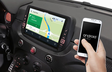 Online Navigation with Android Auto - X902DC-F