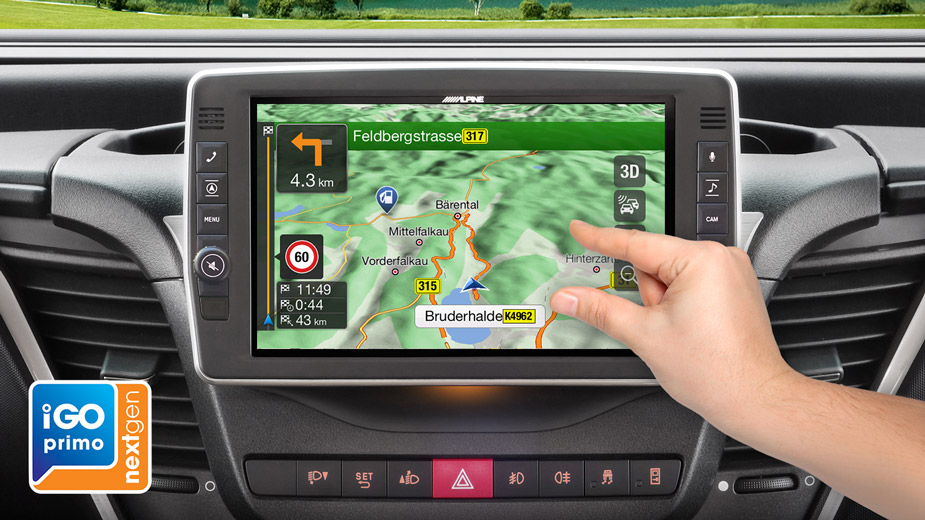Alpine Style Navigation Designed for Iveco Daily - X903D-ID