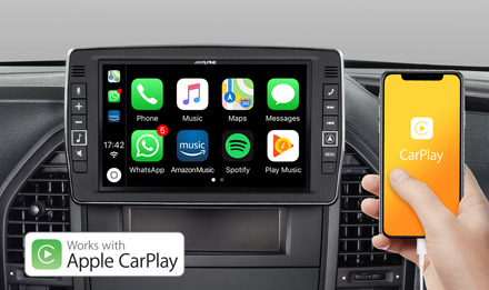 Mercedes Vito - Works with Apple CarPlay - X902D-V447