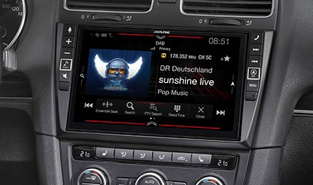 Golf 6 - DAB Digital Radio - X903D-G6