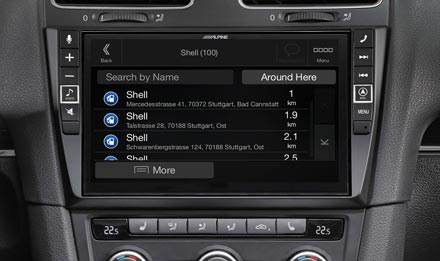 Golf 6 - Navigation - Points of Interest  - X903D-G6