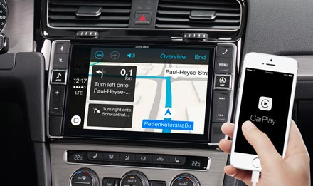 Online Navigation with Apple CarPlay - X902D-G7